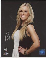 Renee Young Wwe Diva Signed 8x10 Photo w/ Coa Autograph
