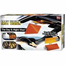 HD CLEAR VIEW VISION DAY & NIGHT SUN VISOR ANTI-GLARE UV BLOCKER FOLD FLIP UK