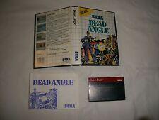 SEGA Master System Dead ANGLE PAL COMPLETO DI SCATOLA E MANUALE