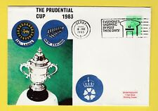 CRICKET - STAMP COVER - PRUDENTIAL CUP -  SRI  LANKA  V  NEW  ZEALAND  -  1983