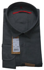 SIGNUM Hemd Langarm Comfort NEU / Gr. L / Melangewebung / Baumwolle / S1.1105