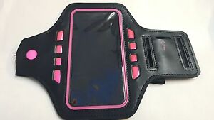 New Waterproof Running  LED Flashing  Arm Band Wrist Strap for 5inchPhone Size