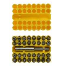 Azul Spot 14151 33pc seguridad poco Pin Set Torx Pin Hex Tri Wing Snake Eye Cruz