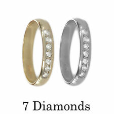 Excellent Cut Round VS2 Fine Diamond Rings