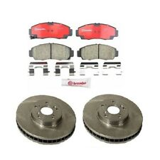 Front Disc Brake Rotors & Brake Pads Brembo for Acura CL TL TSX Honda Accord V6