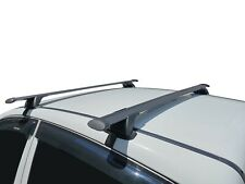 Aero Roof Rack Cross Bar for Nissan Navara D23 NP300 15-20 135cm Flexible Black