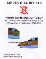 Linden Hill Decals 1/72 FITTERS OVER THE PANJSHIR VALLEY Sukhoi Su-17 Fighters
