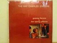 THE  RAY  CHARLES  SINGERS         LP       YOUNG  LOVERS IN FAR AWAY PLACES