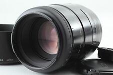 【NEAR MINT】 Minolta AF 100mm f/2.8 NEW Macro for Minolta Sony A From JAPAN 9284
