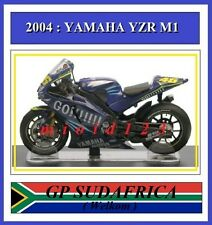 1/18 - ROSSI - YAMAHA YZR M1 - 2004 Welkom - Die-cast