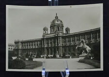 Postcard Wien Kunsthistorisches Museum Austria BW RPPC