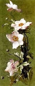"Oil painting still life nice flowers 康乃馨 - carnations free shipping 20""x60"" inch"