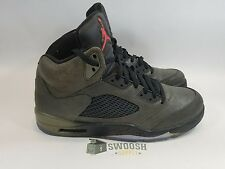 Nike Air Jordan V 5 Retro Sequoia/Fire Red-Olive-Blk Fear Pack 626971-350 SZ 13