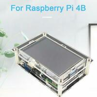 For Raspberry Pi 4 Touch HDMI Display Screen+Acrylic Case Durable 3.5 Inch