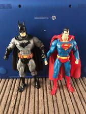 DC Direct Public Enemies Batman And Mattel Superman 6 Inch Figure Lot