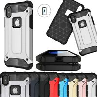 Case For iPhone 5 SE 6 7 8 Plus XR Xs Max Hybrid Rugged Hard Shockproof Cover