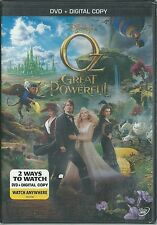 NEW IN PACK OZ THE GREAT AND POWERFUL DVD (2013) INCLUDES DIGITAL COPY