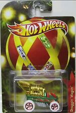 Hot Wheels DRAGGIN WAGON Radio Holiday Hot Rods Exclusive Walmart Edit.Limit