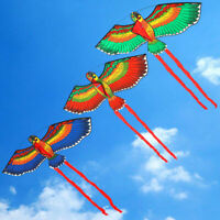 Parrots Kite Kids Children Durable Large Single Line Flying Outdoor Fun Game