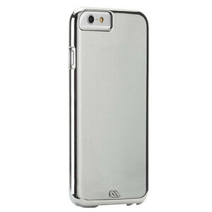 Case-Mate Barely There Case Cover for Apple iPhone 6/6S in Silver