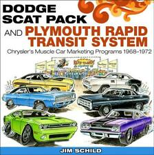 Dodge Scat Pack & Plymouth Rapid Transit System Book~1968-1972~CHARGER-CUDA~NEW