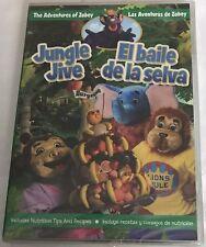 New Jungle Jive El Baile De La Selva DVD Adventures of Zobey spanish childrens