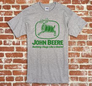 John Deere John Beere Unisex Adult short sleeve TShirt