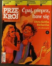 THE ROLLING STONES  KEITH RICHARDS mag.FRONT cover 2011 Poland  Bob Dylan