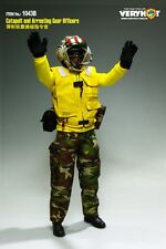 Very Hot US NAVY FLIGHT DECK CREW Catapult and Arresting Gear Officers Set 1/6
