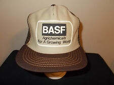 VTG-1980s BASF Basa Plan Agriculture Agrichmeicals Farming snapback hat sku21