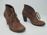 Indigo by Clarks Water Row Brown Leather Ankle Boot Size Women's 7 M