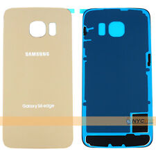 Original Battery Cover Back Glass For Samsung Galaxy S6 Edge G925A G925V G925T