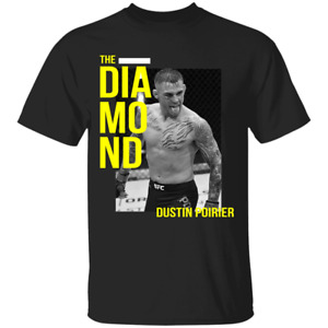 Men's UFC Dustin Poirier Birthday 2021 Black T-Shirt Fot Fan S-4XL