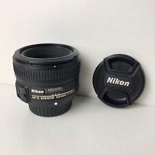 Nikon Nikkor AF-S 50mm F/1.8 G Lens - Good Condition