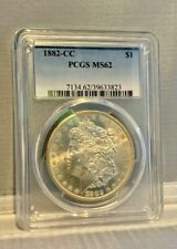 PCGS MS-62 1882-CC Morgan Silver Dollar