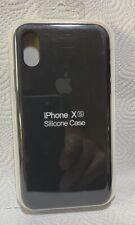 Original Apple iPhone XR Silikon Case in Schwarz