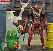 """6""""VI6 Deadpool Action Figure Marvel legends X-men Doop&Comic Series6 ToyBiz New"""