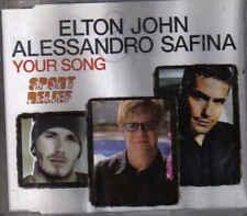 Elton John&Alessandro Safina-Your Song cd maxi single incl video