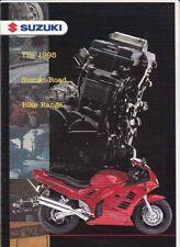 1995 SUZUKI ROAD BIKE RANGE 4 Page Australian Brochure GSX-750 RF900 GSX-R1100W