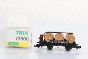N MINITRIX 13808 Schlamp Weintransportwagen  GÜTERWAGEN boxcar OVP J55