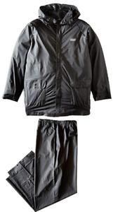 Mens Coleman 20mm PVC Rain Suit,Jacket and Pants,XL,Black
