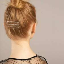 3pc Rhinestone Bobby Pins - Rose Gold - Kitsch Official