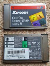 Xircom CEM56-100 PC-Card 10/100Mbps Ethernet + 56Kbps modem