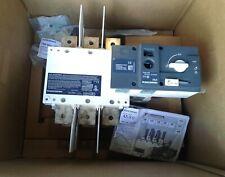 97233040 SOCOMEC ATYS UL OPEN TRANSFER SWITCH 3POLE 3X400AMP NEW IN BOX!