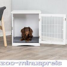 Hunde Home Kennel, Haus zum Zurückziehen, mit Metallgitter und Riegel, Kissenein