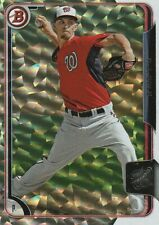 2015 Bowman Prospects Silver Ice #BP8 A.J. Cole Nationals