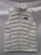 Patagonia Girls/Kids Down Sweater Vest 68227 Birch White Size Medium