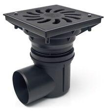 Hofablauf Kunststoffrost befahrbar Belastung bis 1500 kg  245x245 mm 330 S z