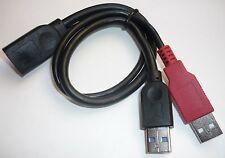 USB 3.0 Cavo Y Adattatore 30cm dati di alimentazione Cavo di collegamento Delock 83176 HDD 2x ST