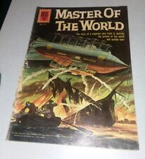 Dell Four Color FC #1157 GD Master Of The World 1961 Jules Verne, Vincent Price